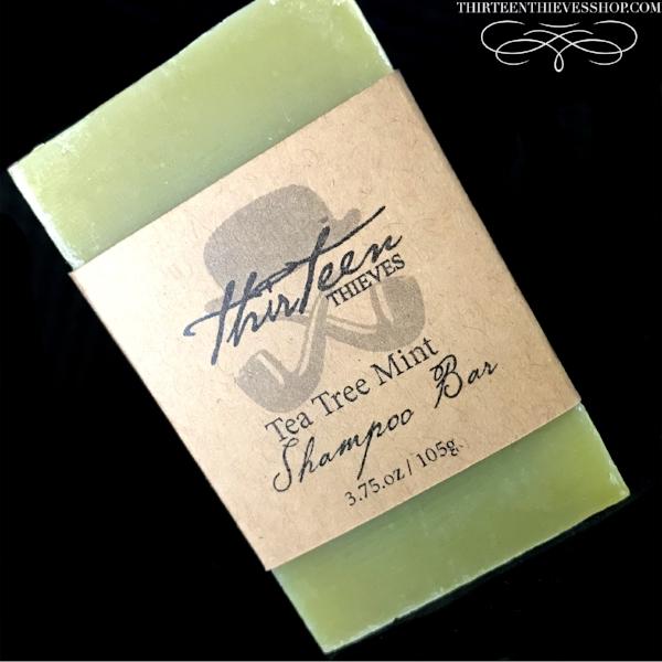Tea Tree Mint Shampoo Bar