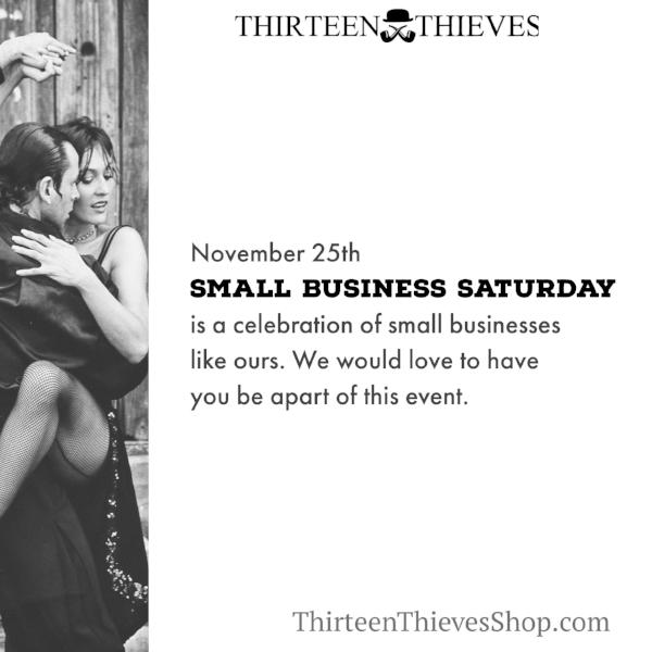 Small Business Saturday Boise ID Thirteen Thieves