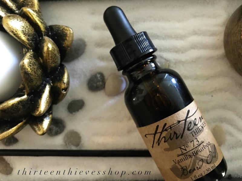 Vanilla Bourbon Beard Oil