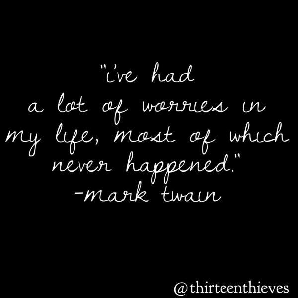 Mark Twain Quote Blog Post Thirteen Thieves