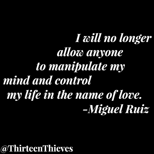 Miguel Ruiz, The Four Agreements Thirteen Thieves Blog