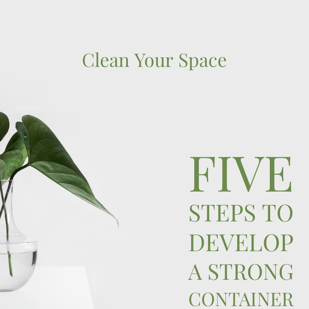 Clean Your Space Thirteen Thieves