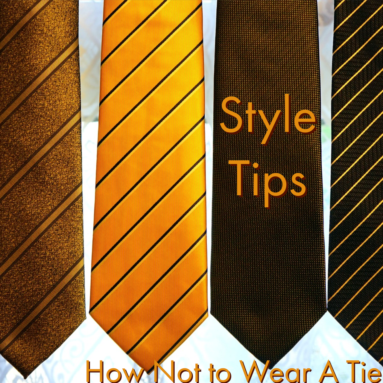 How not to wear a tie
