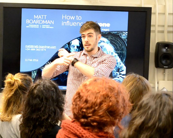 My talk on How to Influence Anyone (Without Evil Magic) for TechHub at Google Campus Madrid.