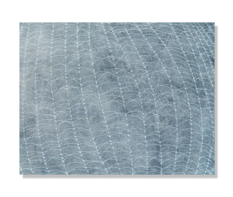 """Chalk Weave, 2013 Encaustic, Oil 24""""x16"""" SOLD"""