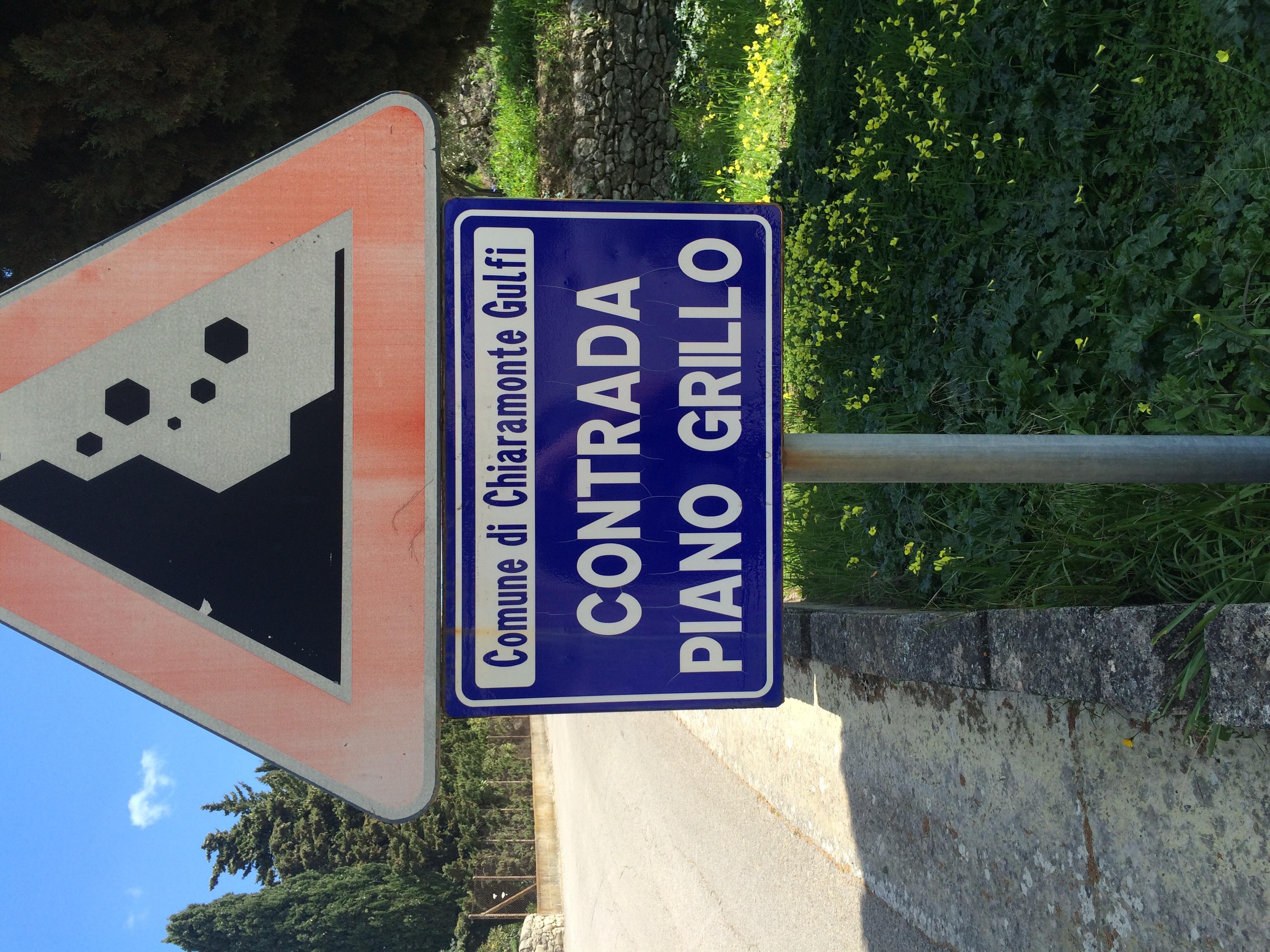 proper street signs? che cos'è?!