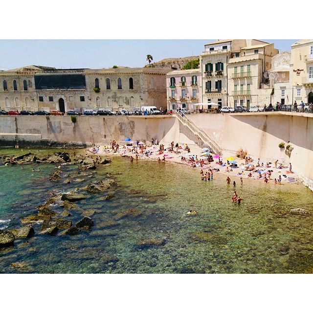 Siracusa, you're beautiful. My 12th island this summer. ✨| Ortigia, Sicily #snacksicily . . . . .