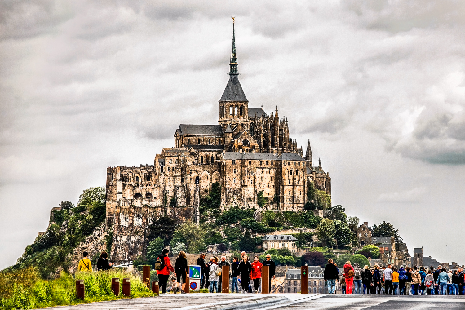 Mont-Saint-Michel Normandy, France