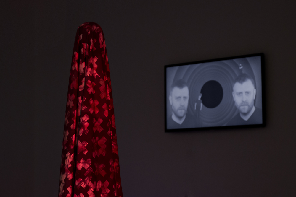 Textile and Video Installation