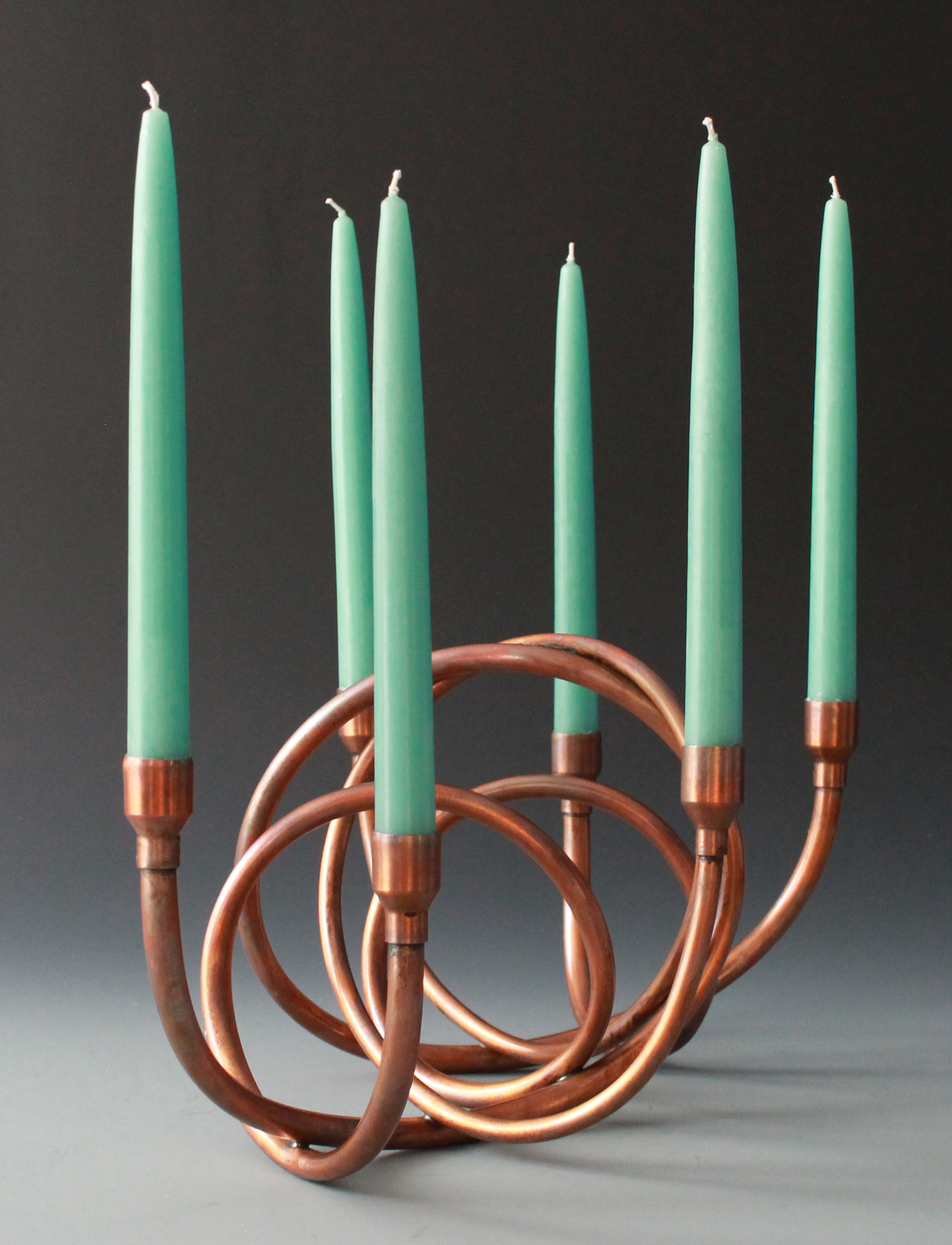 Six-light candelabra