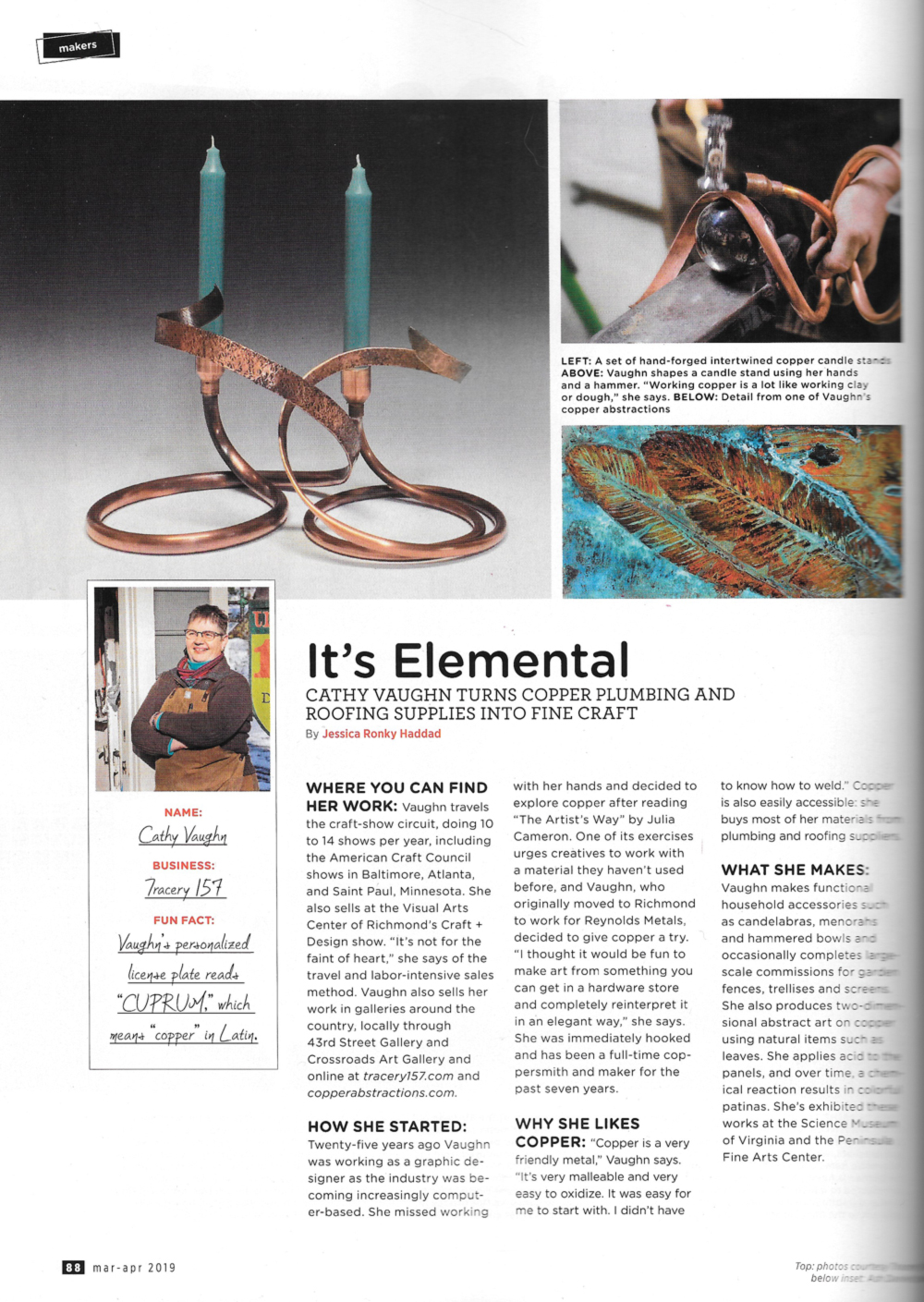 Check out page 88 in the March-April issue of R•HOME magazine.