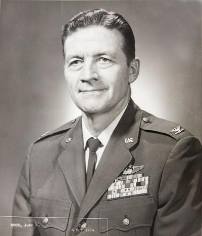 Colonel John R. Boyd (Wikimedia Commons)