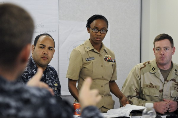 Students taking part in joint professional military education at the Naval War College | https://www.usnwc.edu/Academics/Catalog/RightsideLinks-(1)/2012-2013.aspx