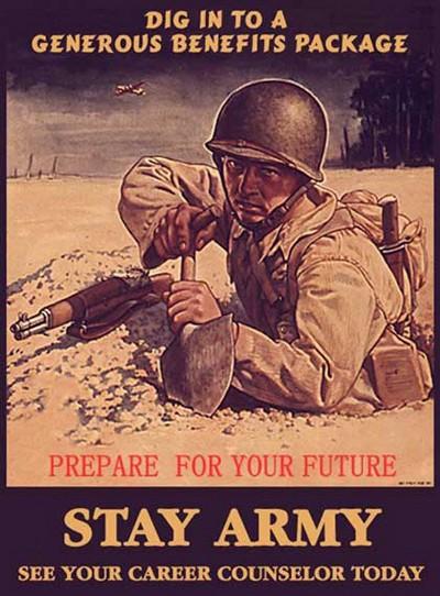 Word War II Era Recruiting Poster