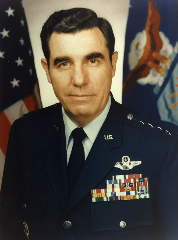 General John Michael Loh, Commander of Air Combat Command from 1992 to 1995. Official Air Force Photo