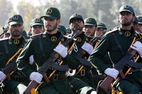 Iran has warned that its armies are ready to face ISIS should they come close to their borders [file photo of Iranian Revolutionary Guards]