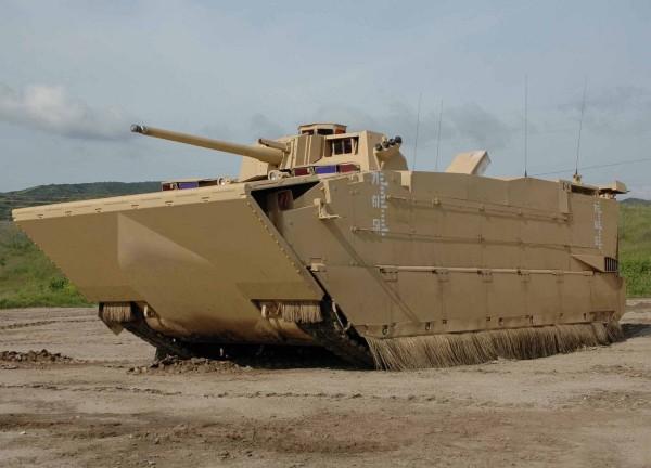 The canceled Expeditionary Fighting Vehicle (U.S. Marine Corps photo)