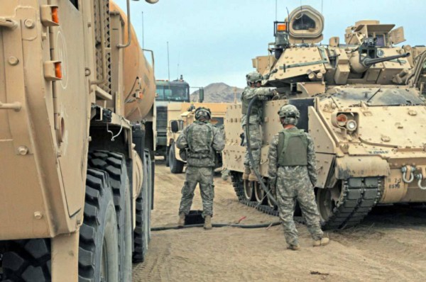 U.S. Army armored forces bring a robust sustainment capacity.