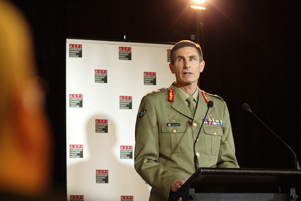 Lieutenant General Angus Campbell, Chief of the Australian Army (Courtesy of the Australian Strategic Policy Institute)