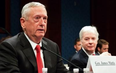 Retired Marine Corps Gen. James Mattis (Rick Vasquez, Stars and Stripes)