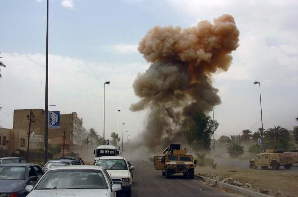 Car bombing in Iraq, 2005 (SPC Ronald Shaw Jr., U.S. Army)