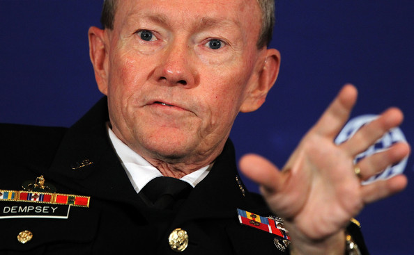 Joint Chiefs Chairman Gen. Martin Dempsey Speaks At The Atlantic Council in 2011 (Alex Wong, Getty Images)
