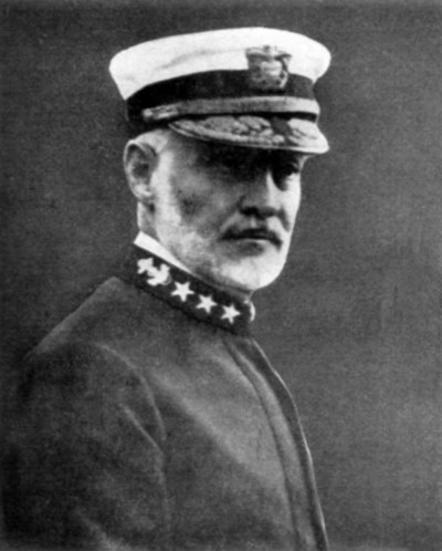 VADM William S. Sims, Commander, U.S. Naval Forces, Europe