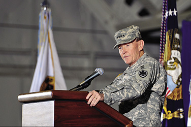 Former Chairman of the Joint Chiefs of Staff General Martin E. Dempsey.