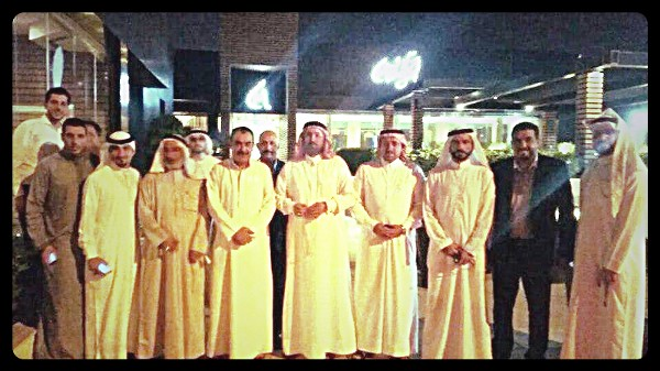 Council of Sunni tribal leaders, 2012.Photo is the author's own.