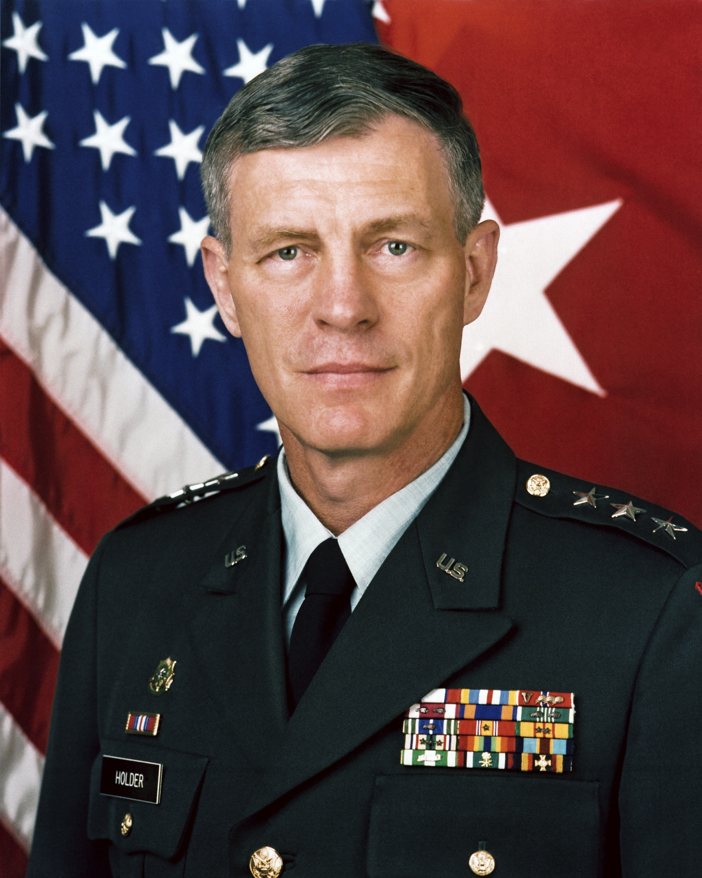 Lieutenant General Don Holder (U.S. Army Photo)