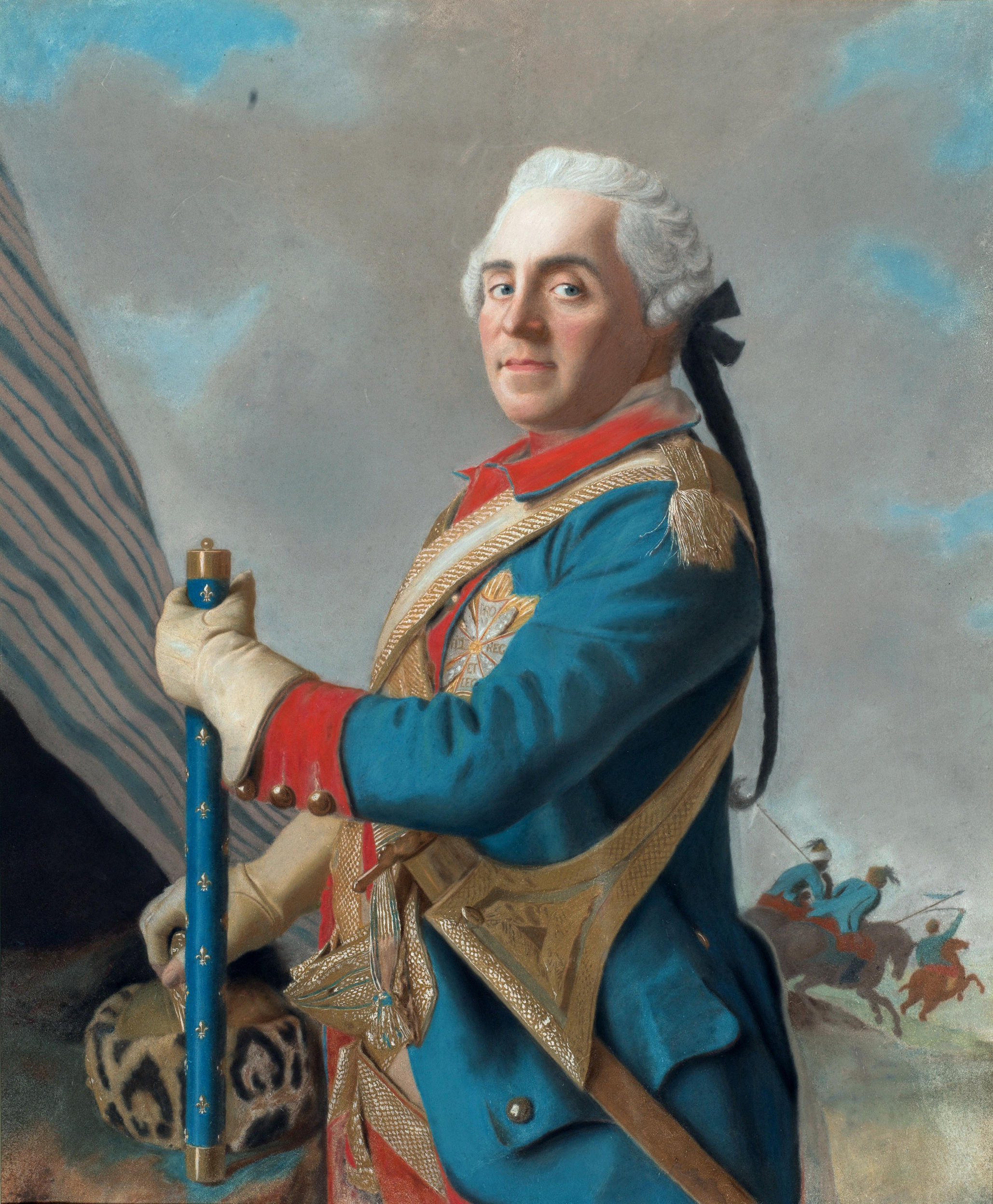 """Maurice of Saxe as a Marshal of France: """"Few orders are best, but those must be rigorously enforced."""""""
