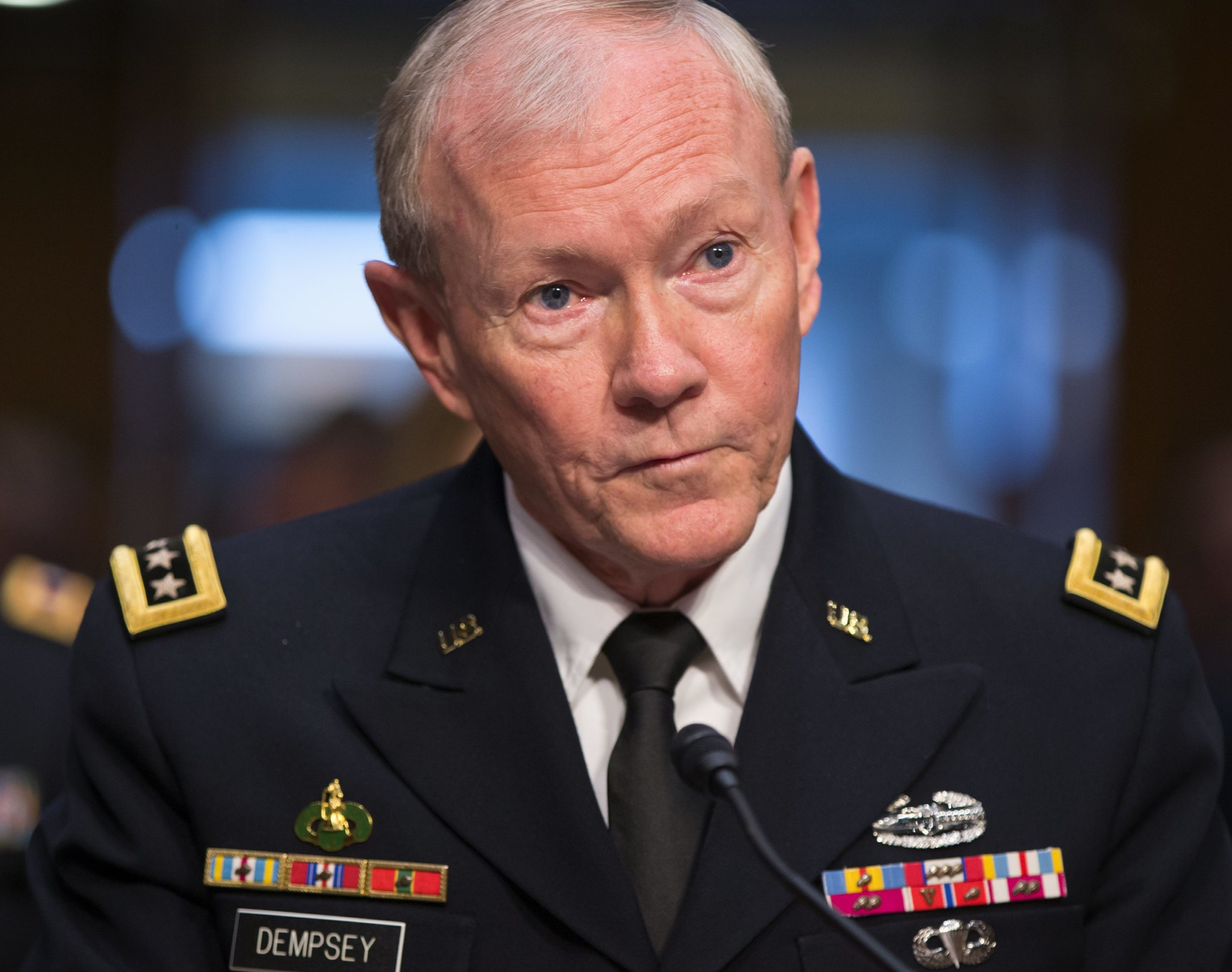 """General Martin E. Dempsey: """"Today's global security environment is the most unpredictable I have seen in 40 years of service."""""""