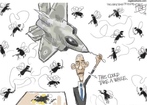 Bad Fly with a Gun ( Pat Bagley )