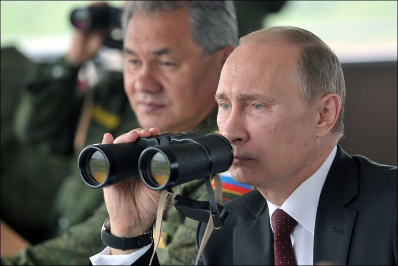 """Putin after requesting """"permission to use force"""""""