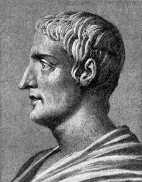 """Gaius Tacitus: """"""""Auferre, trucidare, rapere, falsis nominibus imperium; atque, ubi solitudinem faciunt, pacem appellant."""" (Public Domain)"""