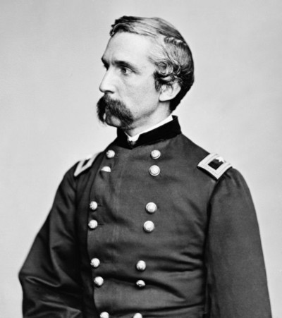 Joshua L. Chamberlain, as photographed by Matthew Brady in 1865 | Image courtesy the National Archives