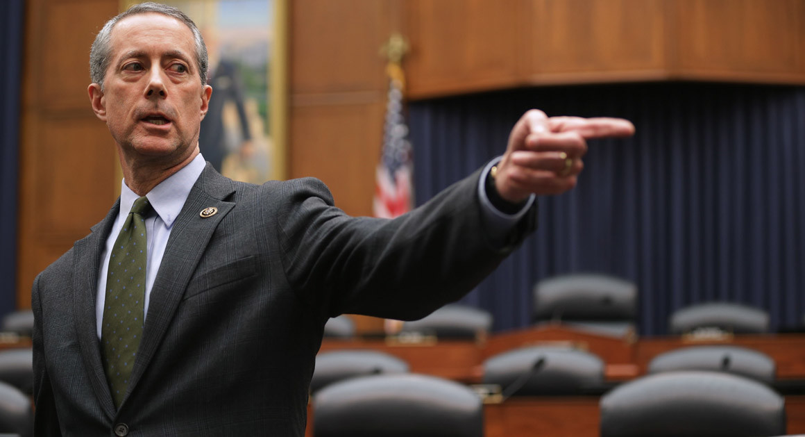 House Armed Services Committee Chairman Mac Thornberry (R-TX),February 10, 2015 (Photo Credit:  Chip Somodevilla ) .