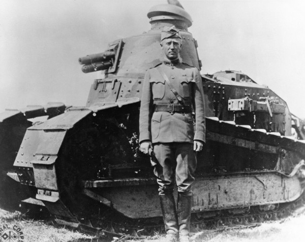 Patton at Fort Meade