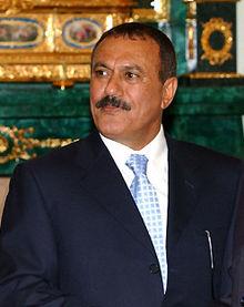 President of the Republic of Yemen, Ali Abdullah Saleh in  The Kremlin  ( Wikimedia Commons )