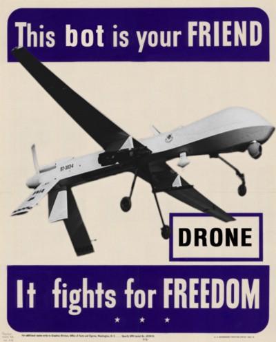 Drones are Friends via WeirdTV Blog