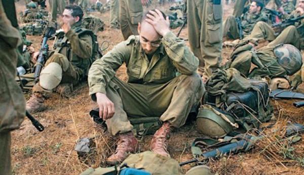Israeli Defense Forces near the Lebanese Border, 2006 (Getty Photos)