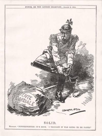 German views of the Entente Cordiale