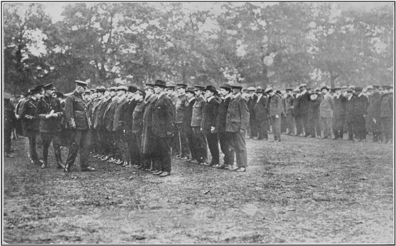 Battalion Hyde Park, October 1914