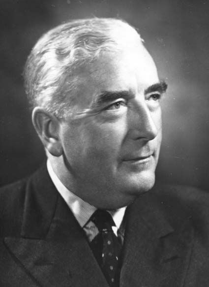 "Sir Robert G. Menzies: ""In the great story of scientific achievement, democracy need not make a regulated bow in the direction of Communism."" (Public Domain)"