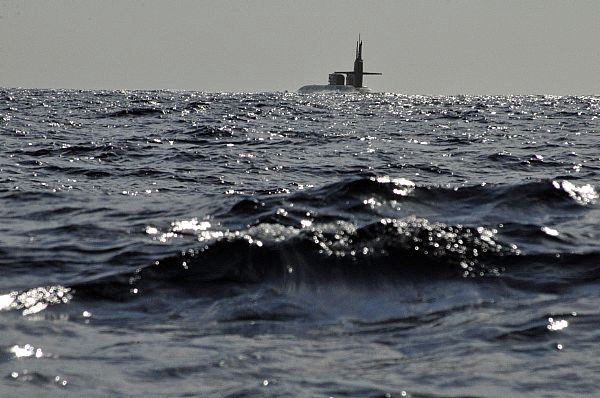 Ohio-class guided-missile submarine USS Florida (SSGN 728) (U.S. Navy)