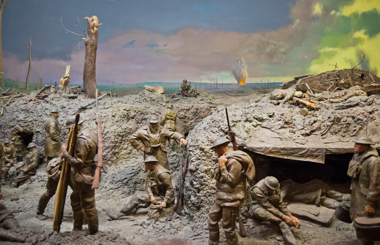 Somme Battlefield Diorama (Australian War Memorial)