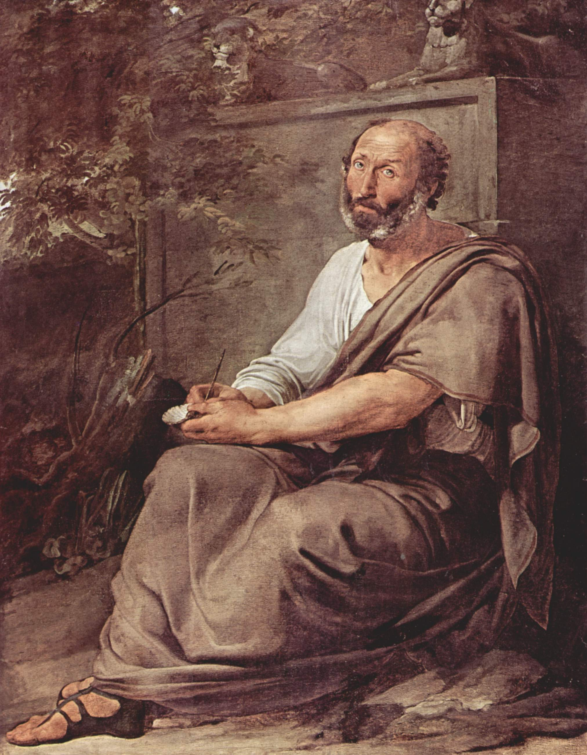 """Aristotle"" ( Francesco Hayez)"