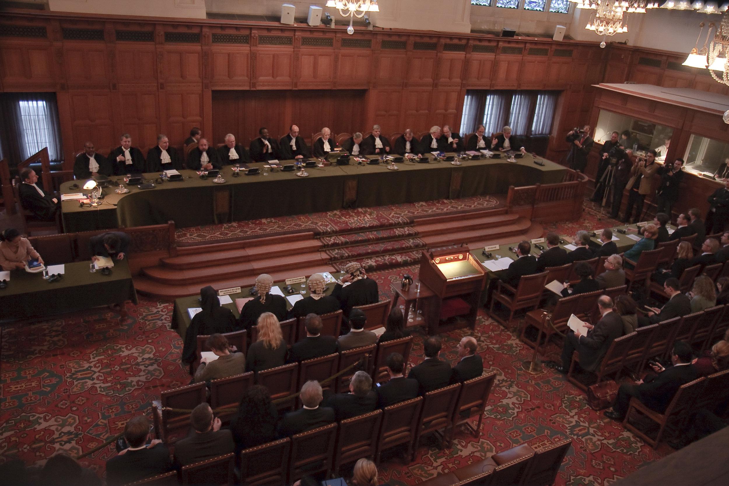 International Court of Justice (Wikimedia/Lybil Ber)