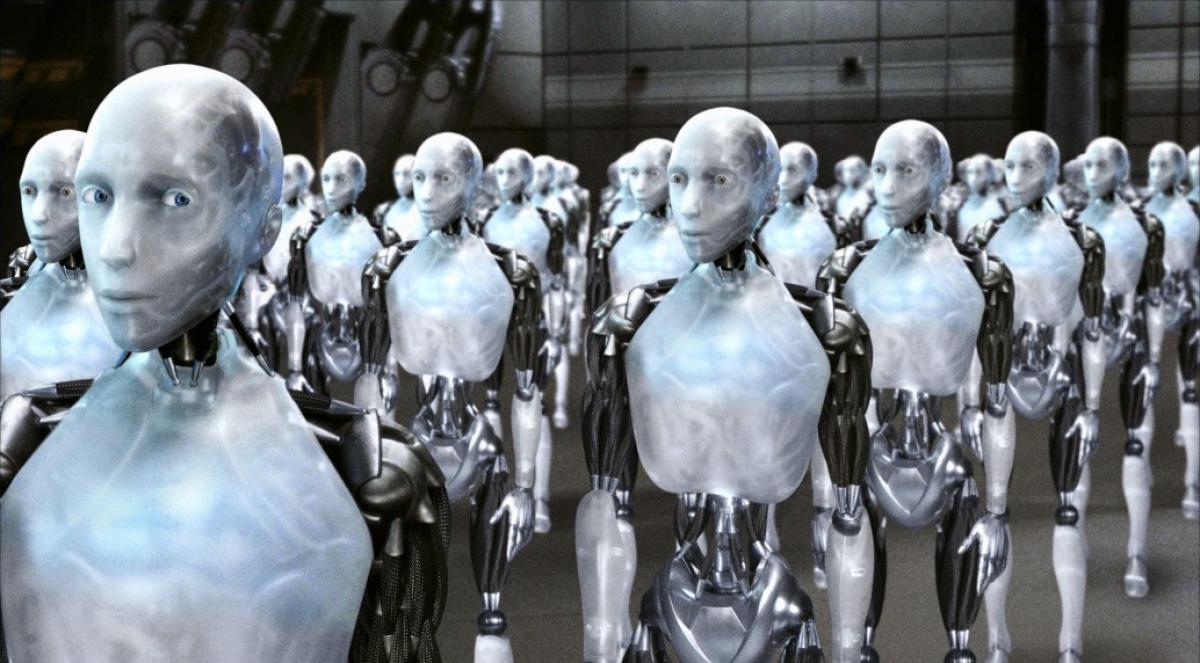 Image from the film I, Robot (IMDB)