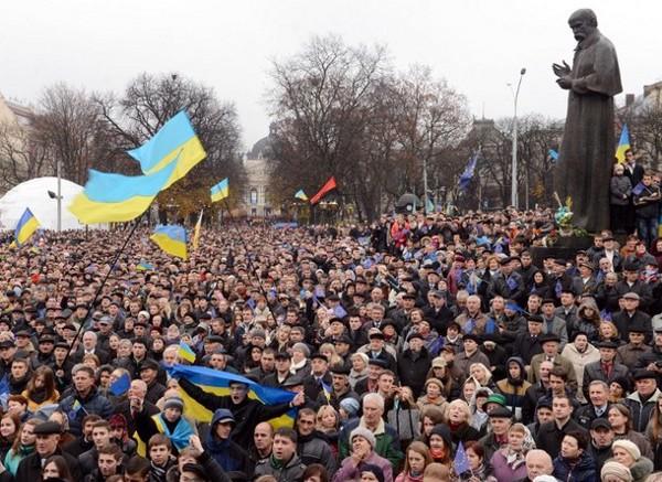 Orange Revolution, 2004. (Kyiv Post)
